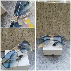 Uv protection Mesh Wire Round Sunglasses Women Bra